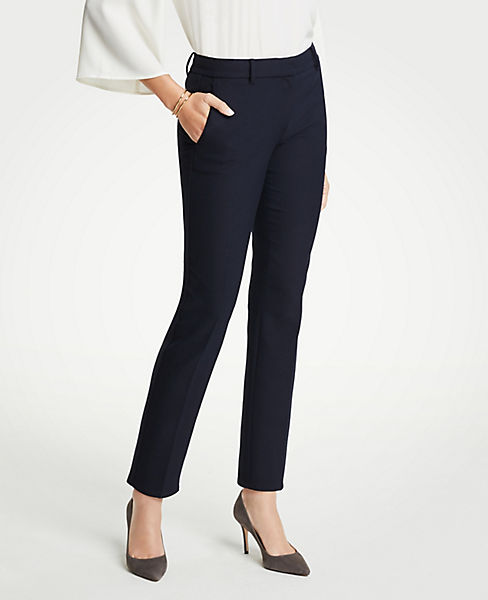 The Petite Ankle Pant In Doublecloth - Curvy Fit