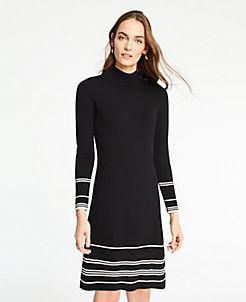 Sweater Dresses For Women Long Sleeve Turtleneck Sweater Dresses
