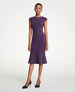 Tea Length Ann Taylor Black Dresses
