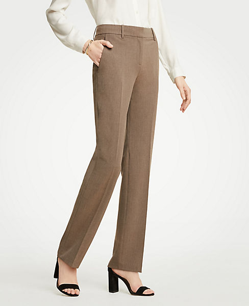 The Petite Straight Leg Pant In Seasonless Stretch - Classic Fit