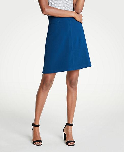 Petite Pocket A-Line Skirt