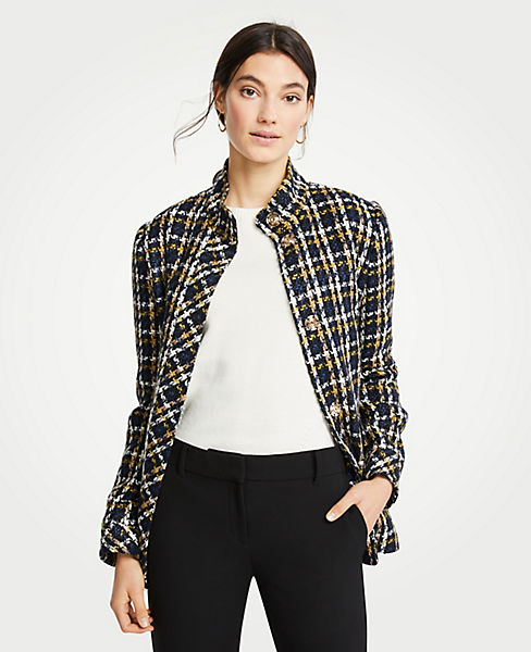 Petite Plaid Jacket