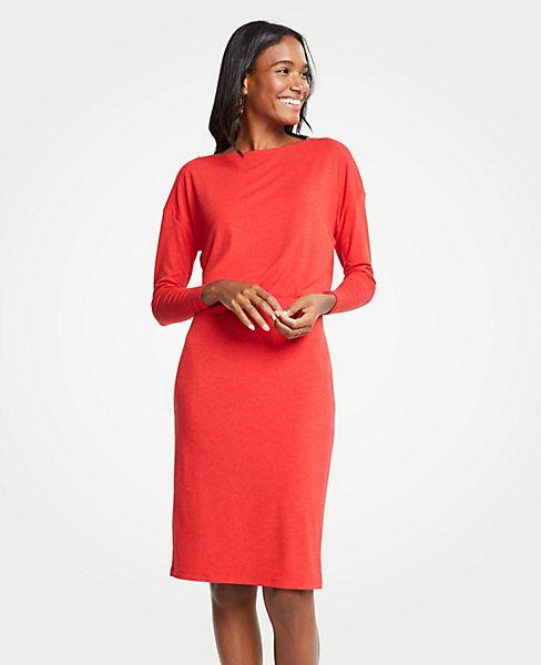 Petite Shirred Sheath Dress