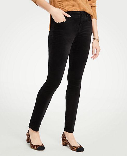 Petite Modern Skinny Velvet Jeans