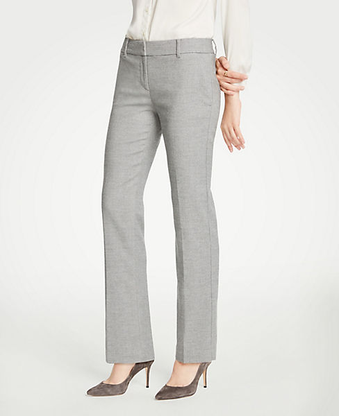 The Petite Straight Leg Pant In Flannel