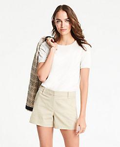 c302d66224eda Shorts For Women: Bermuda, Khaki, and Walking Shorts | ANN TAYLOR