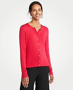 Pink Cardigan Petite Sweaters  Cardigans c67b41cc1