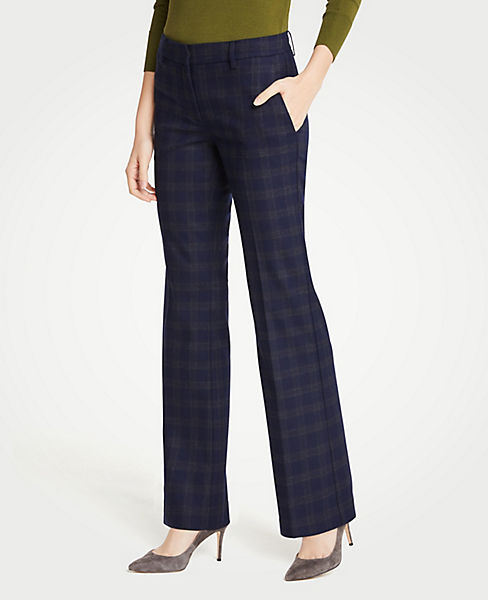 The Petite Madison Trouser In Flannel