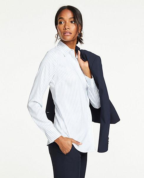 Petite Striped Perfect Shirt