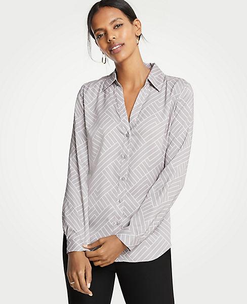 Petite Geo Essential Shirt