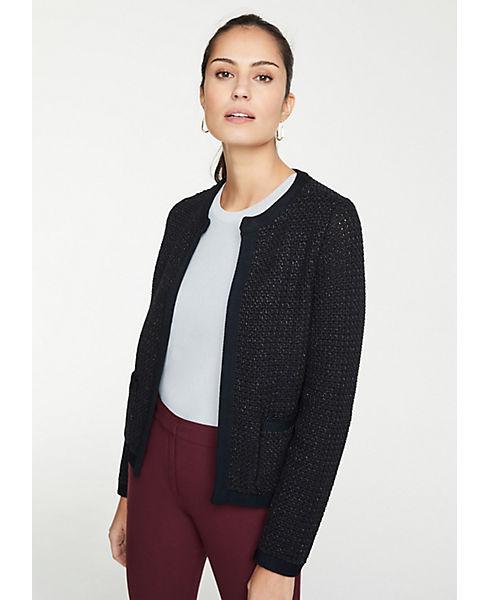 Petite Shimmer Pocket Sweater Jacket