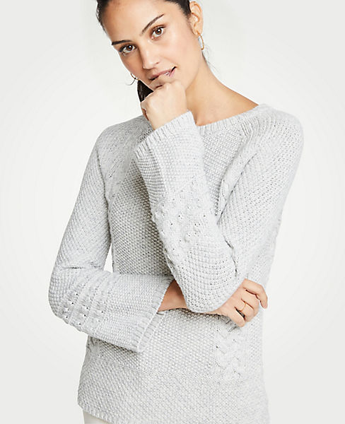 Petite Cable Knit Sweater