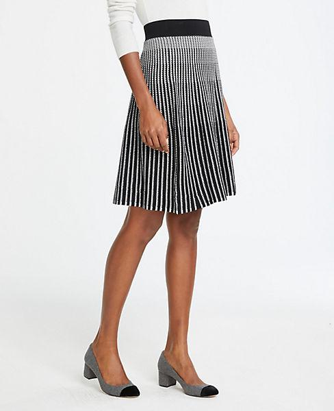 Petite Stitched Sweater Skirt