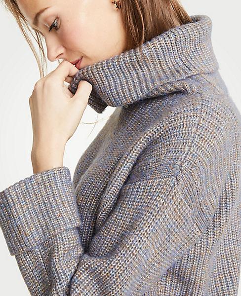 Petite Cuffed Turtleneck Sweater