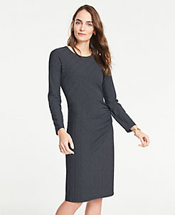 Ponte Dress With Eyelet Sleeves Factory Direct Selling Price Jumpsuits & Rompers