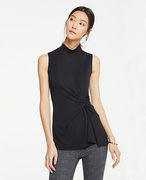 Petite Knot Front Shell