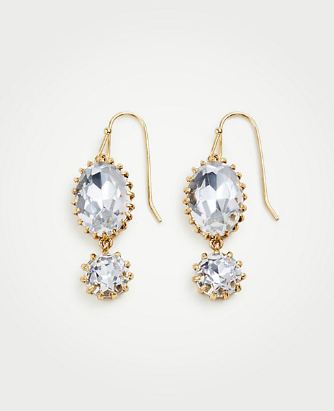 Double Crystal Drop Earrings  dcd7c9f66d