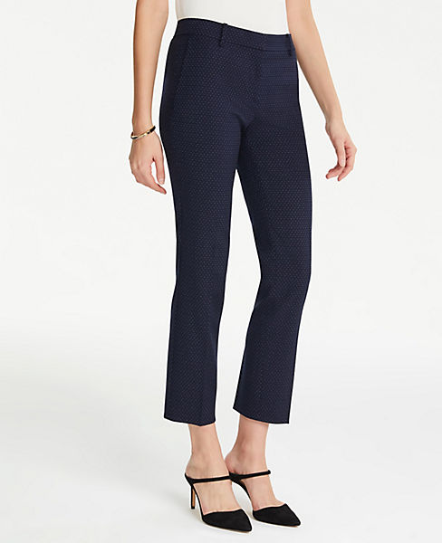 The Petite Ankle Pant In Pindot