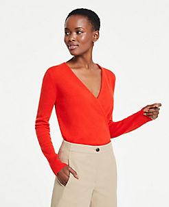2709af7b4863c Cashmere Crossover Sweater