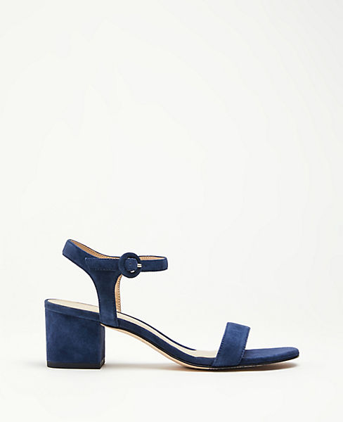 809c8434e96a Kennedy Suede Block Heel Sandals