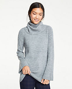 0d428b58f3f Blue & Grey Petite Sweaters for Women | ANN TAYLOR