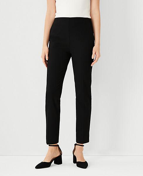dd526b8e49 The Side-Zip Ankle Pant in Bi-Stretch | Ann Taylor