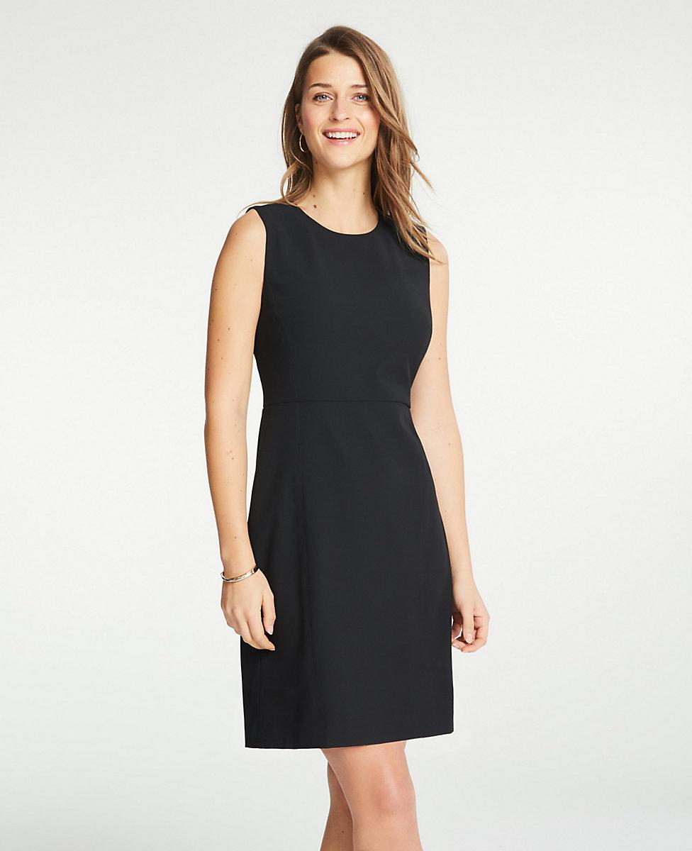 3ce9cbd0bc489 Shoptagr   Flare Dress In Bi Stretch by Ann Taylor