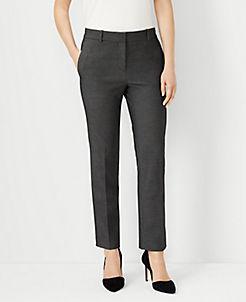 67850659b5 Ankle Pants for Ladies: Plaid, Velvet, & Tie Waist | ANN TAYLOR