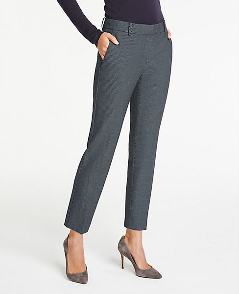 The Petite Ankle Pant In Dot