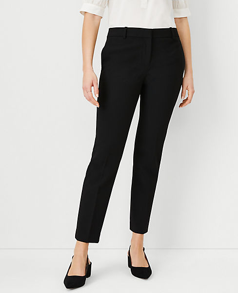 The Petite Ankle Pant In Bi-Stretch - Curvy Fit
