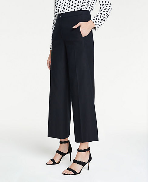 The Petite Wide Leg Marina Pant