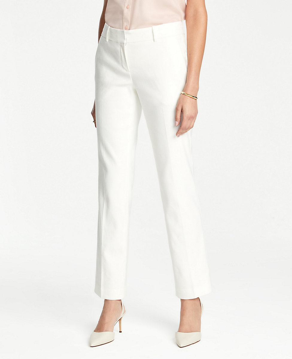The Straight Leg Pant In Herringbone by Ann Taylor