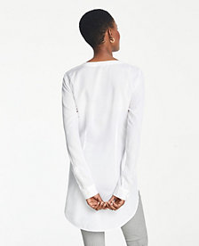 1d553917 Image 2 of 2 - Tie Waist Button Down Tunic