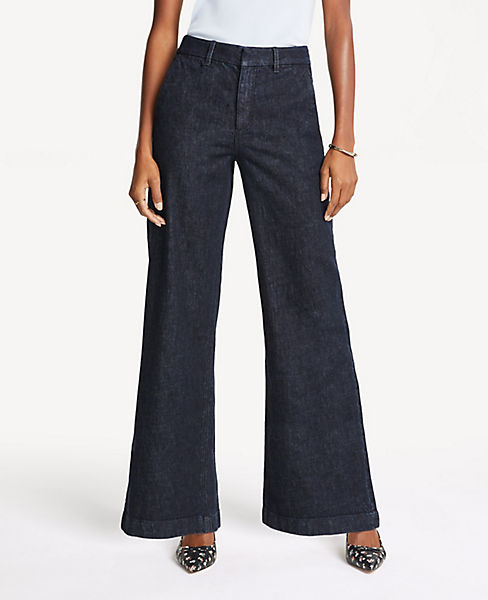 The Petite Trouser in Refined Denim