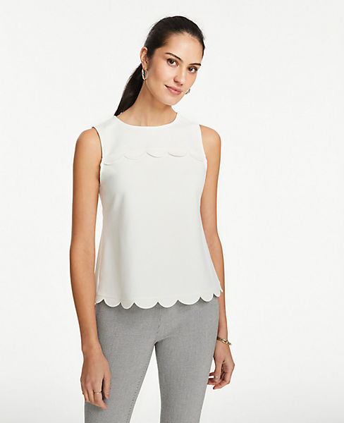 Petite Scalloped Shell