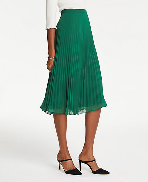 Petite Pleated Skirt