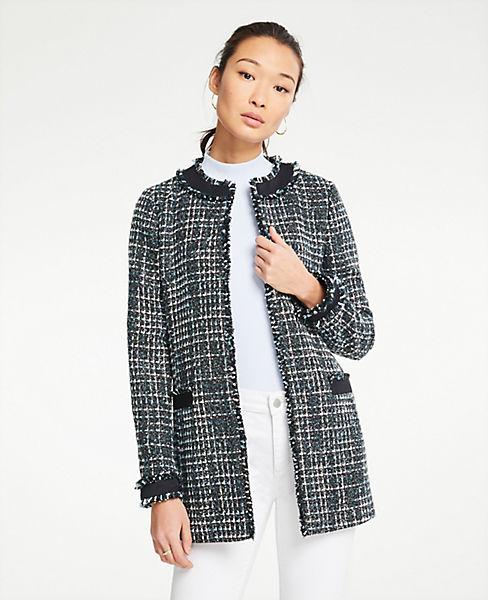 Petite Framed Tweed Jacket