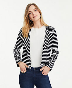 8bdb57df7 Blue Jackets Petite Jackets, Coats, and Outerwear for Women | ANN TAYLOR