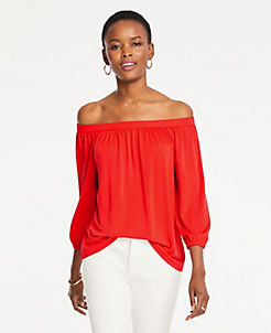 a9cd8404affb77 Long Sleeve Tops for Women | ANN TAYLOR