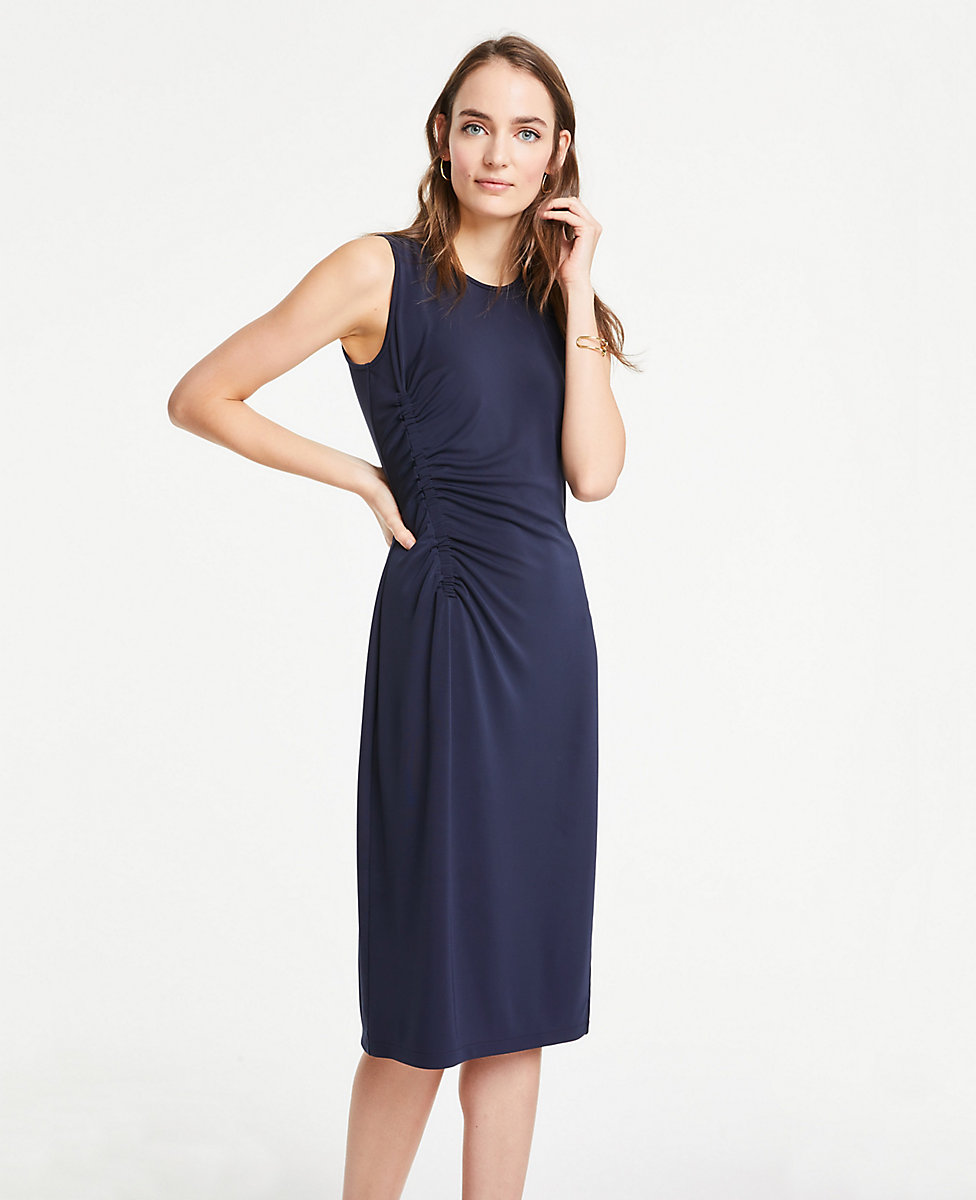 Rouched Dresses Ann Taylor