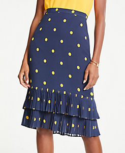 37e68a321 Skirts: Denim, Pleated, Midi, Wrap, Fringe & More | ANN TAYLOR