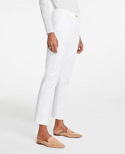 The Petite Cotton Crop Pant
