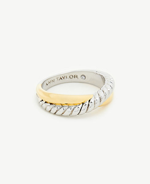 Twisted Metal Ring by Ann Taylor