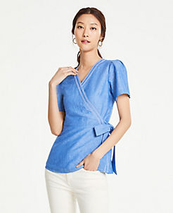 e82a1374e Blouses & Tops for Women | ANN TAYLOR