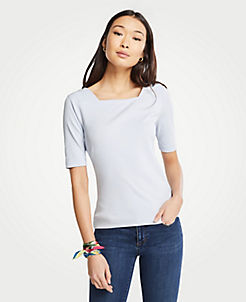 efd250f720995 Square Neck Luxe Tee