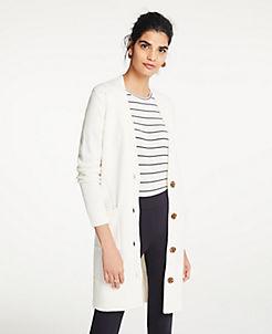 White Cardigan Petite Sweaters  Cardigans b83d0ade4