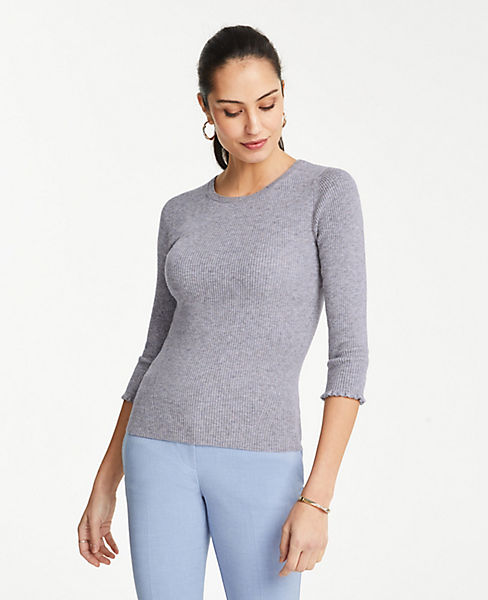 Petite 3/4 Sleeve Perfect Pullover