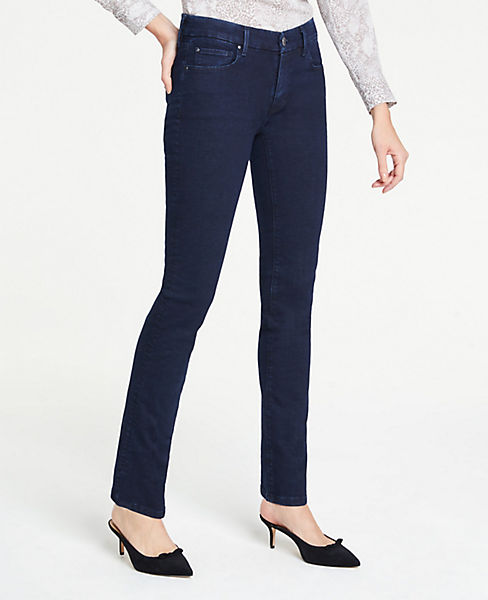 18ced83eb005 Tall Straight Leg Jeans in Evening Sea Wash | Ann Taylor