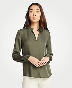 686b857b59d12 Green Blouses   Tops for Women