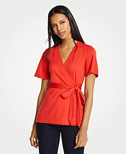 bac8c2378490c0 Red Blouses   Tops for Women
